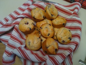 Nothing inspires creativity more than a good blueberry muffin.